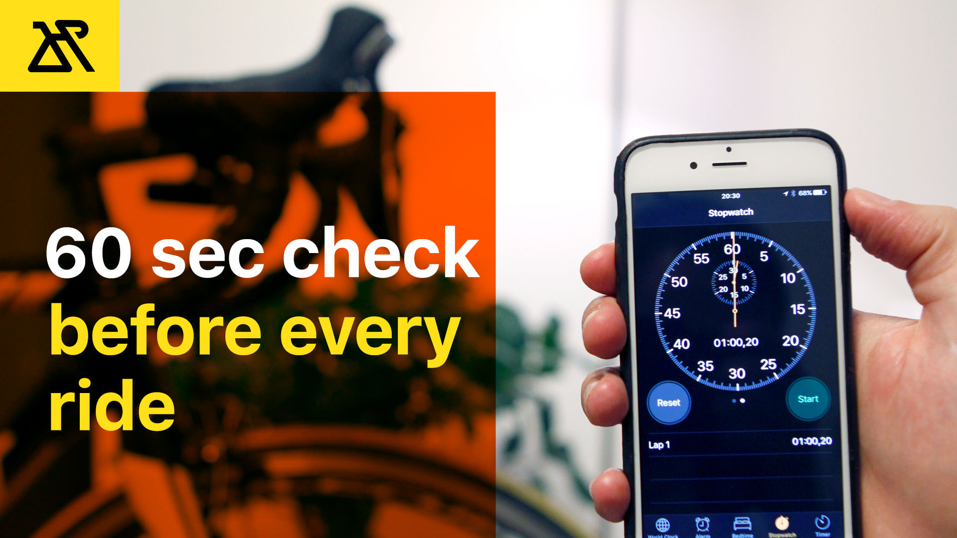 60 Seconds Check Before Every Ride Cycling Check How-To