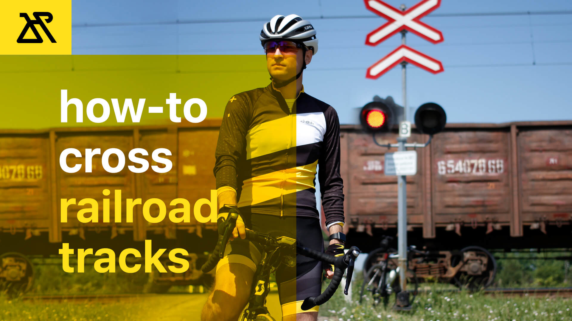 How To Cross Railroad Tracks On A Road Bike
